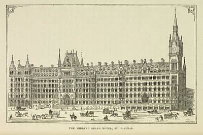 The Midland Railway Art Print by British Library