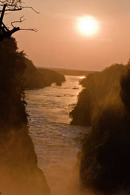Niles Photograph - The Murchison Falls Of The River Nile by Martin Zwick