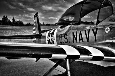 Fighters Photograph - The North American L-17 Navion Aircraft by David Patterson