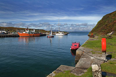 Fishing Harbour Photograph - The North Harbour,cape Clear by Panoramic Images