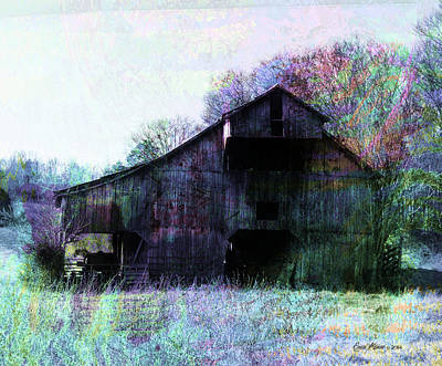 Photograph - The Old Barn by Ericamaxine Price