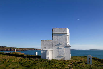Color Guard Photograph - The Old Coastguard Station, Dunmore by Panoramic Images