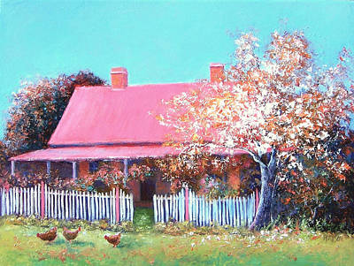 The Old Farm House Art Print