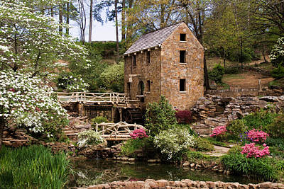 Photograph - The Old Mill by Lana Trussell