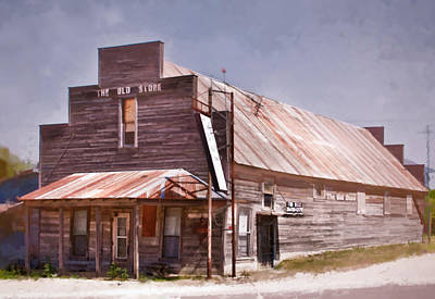 Photograph - The Old Store by David and Carol Kelly