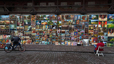 The Open Air Art Gallery Print by Panoramic Images