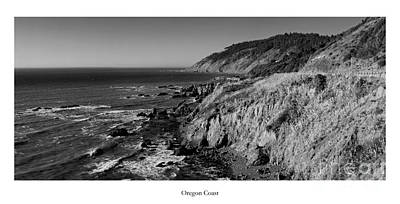 The Oregon Coast Art Print by Twenty Two North Photography
