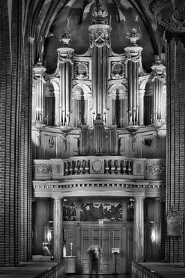 Photograph - The Organ In Stockholm Cathedral - Stockholm - Sweden by Photography  By Sai
