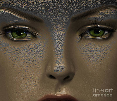 Exotic Digital Art - The Other World by Steven  Digman