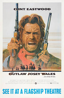 The Outlaw Josey Wales, Us Poster Art Print by Everett