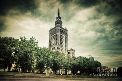 Photograph - The Palace Of Culture And Science by Michal Bednarek