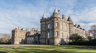 The Palace Of Holyroodhouse Art Print