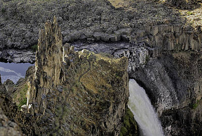 The Palouse Falls Art Print