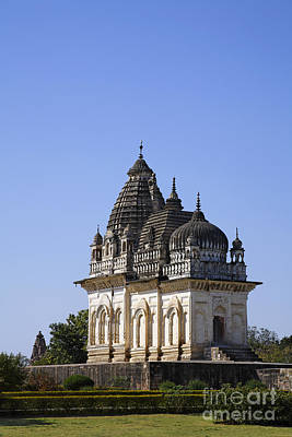 Parvati Photograph - The Parvati Temple At Khajuraho In India by Robert Preston