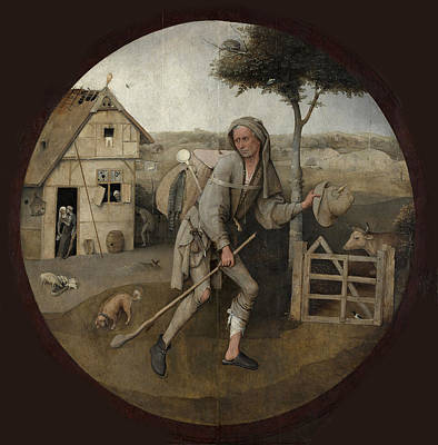 Hieronymus Bosch Painting - The Pedlar by Hieronymus Bosch