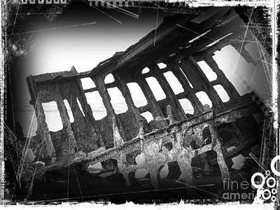 Mixed Media - The Peter Iredale 20 by Chalet Roome-Rigdon