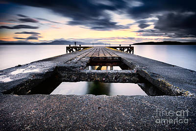 With Photograph - The Pier by John Farnan