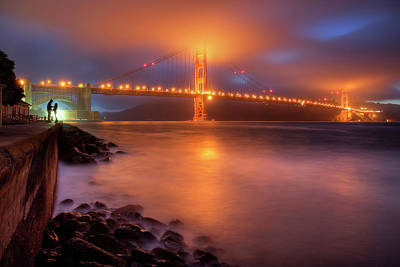 Duo Photograph - The Place Where Romance Starts by William Lee