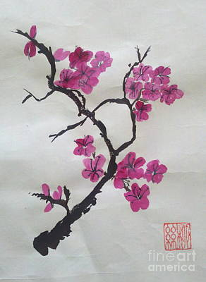 The Plum Blossom Art Print