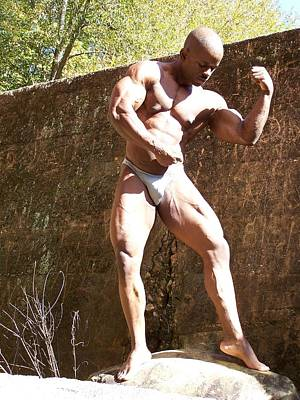 Stock Fitness Photograph - The Pose by Jake Hartz