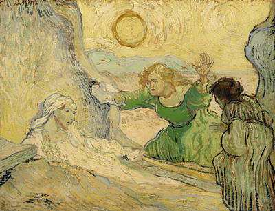 Raising Painting - The Raising Of Lazarus by Mountain Dreams