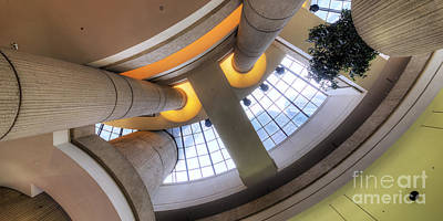 The Renaissance Center Art Print by Twenty Two North Photography