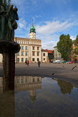 Kazimierz Photograph - The Renaissance Town Hall And Central by Panoramic Images