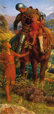 Just Desserts - The Rescue by Arthur Hughes