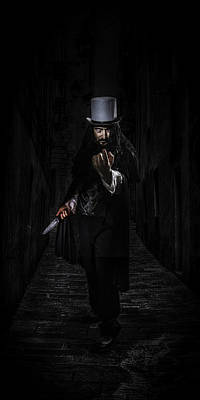 Unsolved Photograph - The Ripper by Mark Rodriguez aka Godriguez