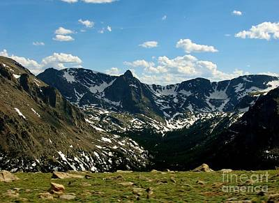 Photograph - The Rockies by Barbara Bardzik