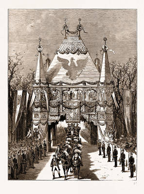 The Royal Wedding In Berlin, Germany Art Print by Litz Collection