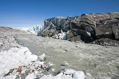 Albedo Photograph - The Russell Glacier by Ashley Cooper