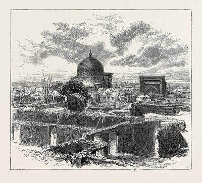 The Russian Expedition To Khiva, Views In The City Art Print