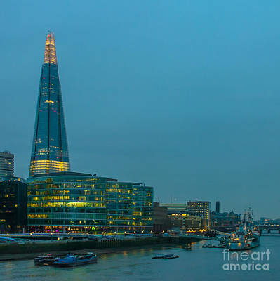 Photograph - The Shard by Jorgen Norgaard