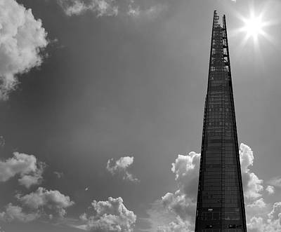London Skyline Royalty-Free and Rights-Managed Images - The Shard London by Martin Newman