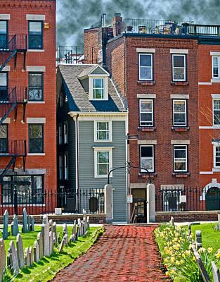 Photograph - The Skinny House Boston by Caroline Stella