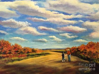 The Sky That Day Original by Randy Burns