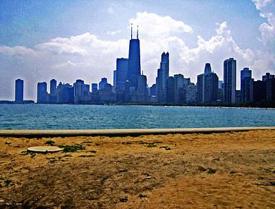 The Skyline Of Chicago Art Print