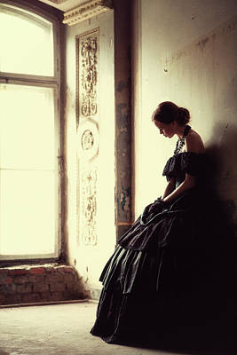 Historical Photograph - The Soft Touch Of Decadency by Magdalena Russocka