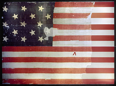 Star Spangled Banner Painting - The Star Spangled Banner by Granger