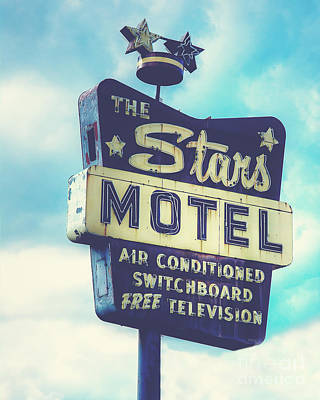 The Stars Motel In Chicago Art Print by Emily Kay
