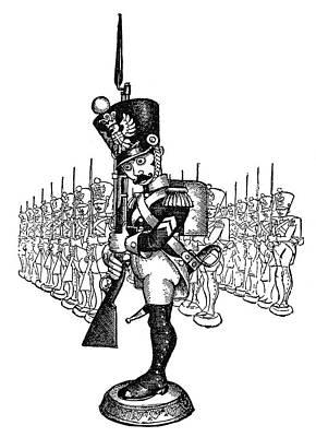 The Steadfast Tin Soldier Art Print
