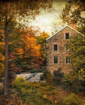 Photograph - The Stone Mill  by Jessica Jenney