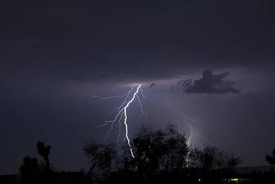 Canon Rebel T2i Photograph - The Storm That Saved A Town II by Carolina Liechtenstein