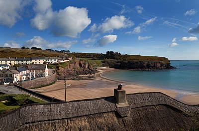 Sandy Cove Photograph - The Strand Inn And Dunmore Strand by Panoramic Images