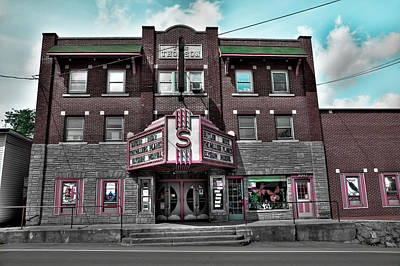 Photograph - The Strand Theatre by David Patterson