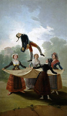 Manikins Painting - The Straw Manikin by Francisco Goya