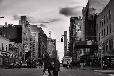 Crosswalk Photograph - The Streets Of New York City by Dan Sproul
