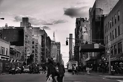 The Streets Of New York City Art Print