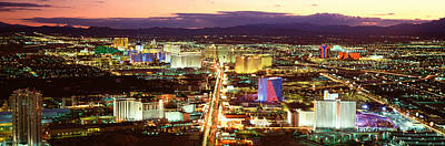 The Strip Photograph - The Strip, Las Vegas Nevada, Usa by Panoramic Images